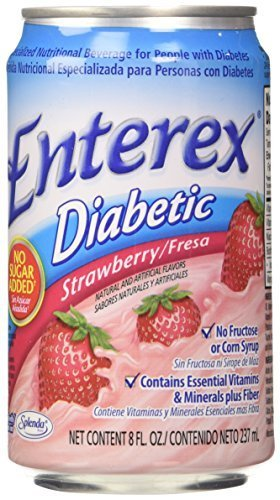 Enterex Diabetic Strawberry 8 Oz by Enterex