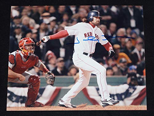 Signed Johnny Damon Photo - 8x10 - Autographed MLB Photos