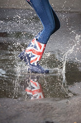 HKM Equestrian Ladies Global Team UK Flag Non Slip Rubber Horse Riding Boots One Colour mQqqNvZLzS