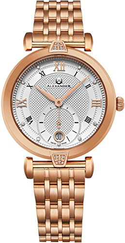 alexander-monarch-olympias-date-diamond-silver-large-face-stainless-steel-plated-rose-gold-watch-for
