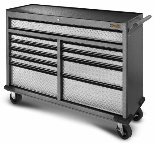 Gladiator GarageWorks GATR5210WG Premier Series 10-Drawer 52-Inch Roll-Away (Gladiator Tool Chest compare prices)