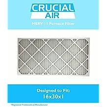 MERV 11 Allergen Air Furnace Filters 16x30x1
