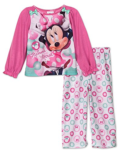 Toddler Girl's Disney Junior Minnie Mouse 2-piece Pajama Set (3T) by Disney