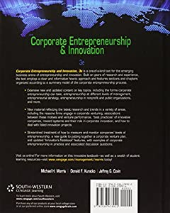 Corporate Entrepreneurship & Innovation by South-Western College Pub