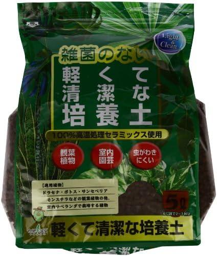 トヨチュー 観葉植物用培養土 軽くてきれいな培養土 5L
