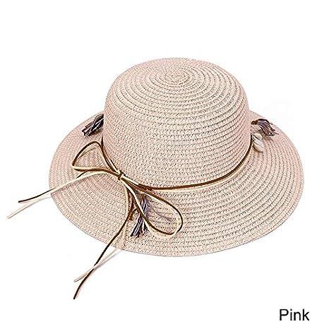 HEHEXIY Sombrero para el Sol para Mujer Elegante Arco Sombreros de ...