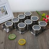 Stainless steel seasoning jar Spice box Sweet mesh duster Multi-function Spice jar Dispensing bottle Kitchen