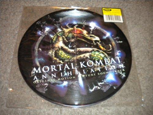 KMFDM - Limited Edition Vinyl Single - Mortal Kombat Annihilation - Psykosonik - Megalomaniac