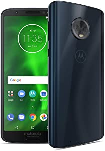 Motorola G6 – 32 GB – Unlocked (AT&T/Sprint/T-Mobile/Verizon) – Deep Indigo - (U.S. Warranty) - PAAE0011US,Starry Black