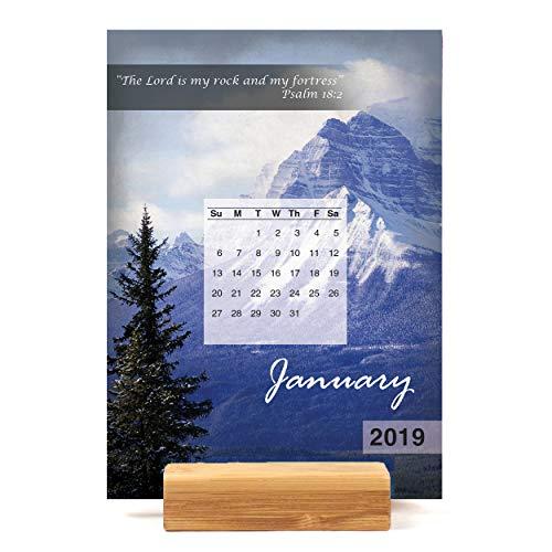 Scenic Scriptures Easel Desk Calendar