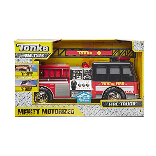 Tonka Mighty Motorized Fire Truck (Large Tonka Fire Truck)