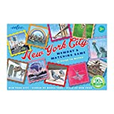 eeBoo New York City Matching Game, Road Trip Travel Game for kids