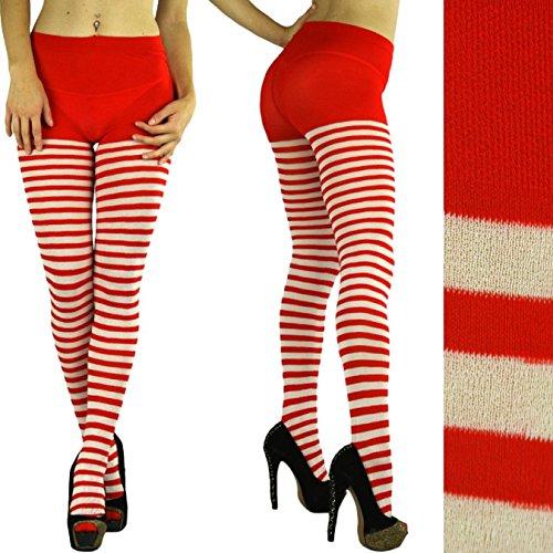 Leg Avenue Womens Plus Size Striped