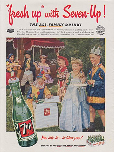 7-up-kids-costume-party-chiquita-banana-for-breakfast-ad-1952