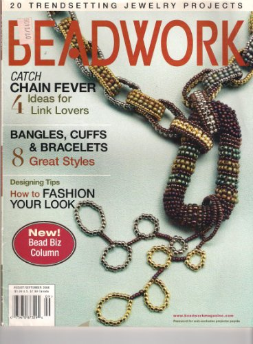 Banded Wood (Beadwork Magazine (August/September 2006): Nola Bracelet; Flamenco Filigree Earrings; Bright Bangles; Bohemian Revolutions Bracelet; Banded Tapestry Cuff; Entwinement of Metal and Wood; Viking Knit Necklace….and more!)