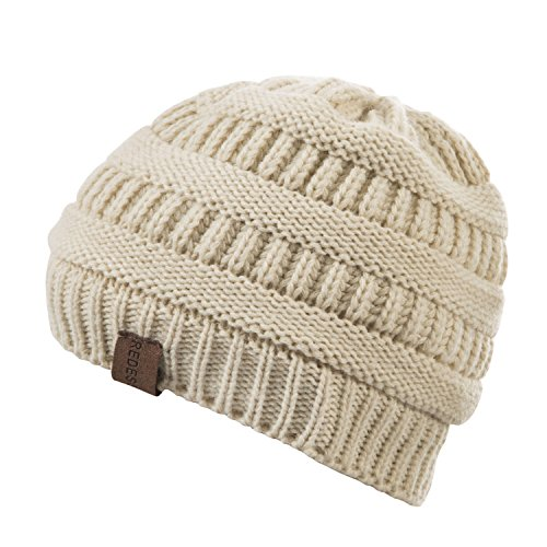 REDESS Baby Boy Winter Warm Fleece Lined Hat, Infant Toddler Kids Beanie Knit Cap Girls Boys [0-5years] by REDESS (Image #4)