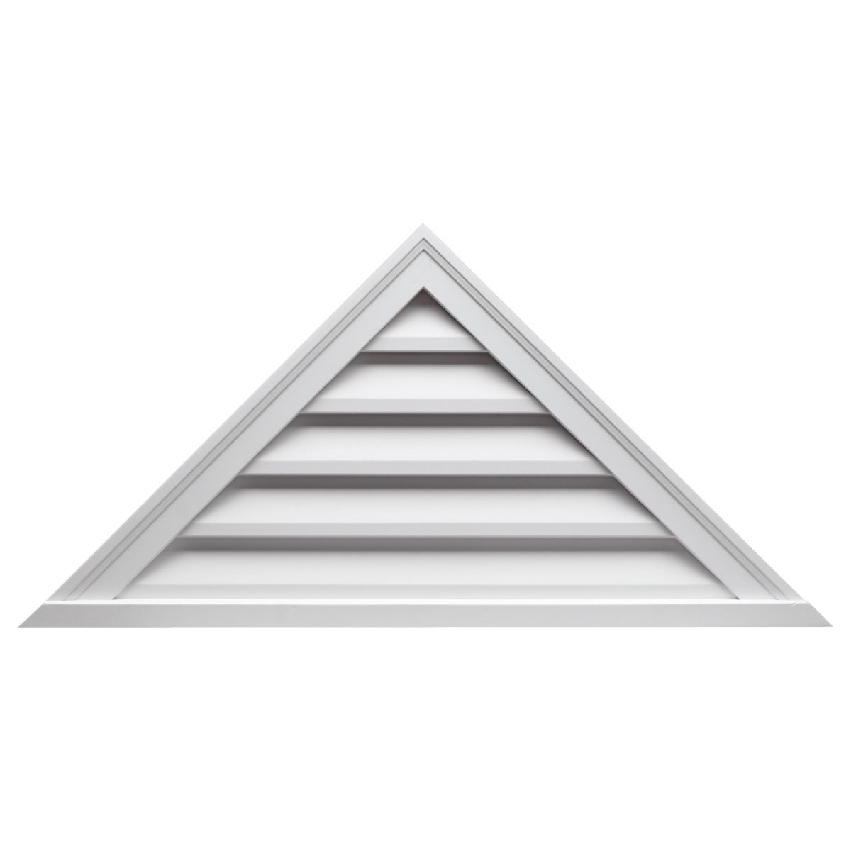 Fypon TRLV36X18 36''W x 18''H Pitch 12/12, Triangle Louver, Decorative