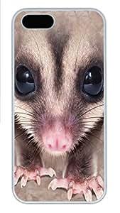 IPhone 5/5S Case Big Face Tarsier PC Hard Plastic Case for iPhone 5/5S Whtie