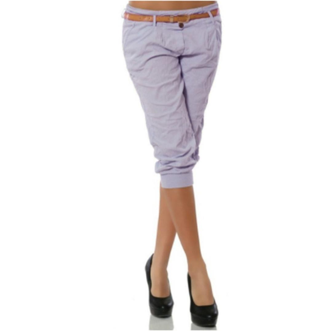 SOMESUN Pantaloni Corti Da Donna Chino Casual Solidi Colore Puro Larghi Taglie Forti Eleganti Leggeri Vita Alta Bianchi Strappato Slim Fit Skinny Elasticizzati Prime