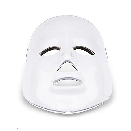 Home Care Wholesale® Máscara de Terapia de Fotones LED con 7 Tratamiento de Luz de
