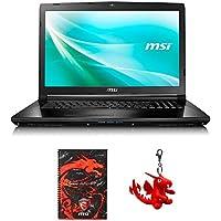 MSI CX72 7QL-026 17.3 Laptop, Intel Core i5-7200U, GeForce 940M, 8GB DDR4, 256GB SSD, Win10 PRO + Gaming Bundle