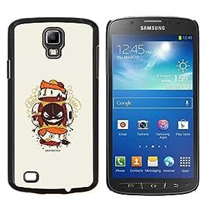 Taotao/duro chascar-en diseño Carcasa piel - mielodisplasia criatura - Samsung Galaxy S4 Active i9295