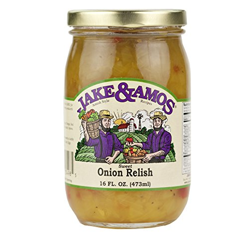 (Jake & Amos Sweet Onion Relish 16 oz. Jar (2 Jars))