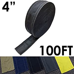 4 safcord carpet cord cover length 100ft color black home audio theater. Black Bedroom Furniture Sets. Home Design Ideas