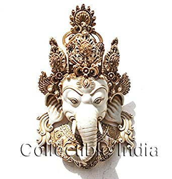 Buy Collectible India 15 Large Ganesh Wall Sculpture Ganesh
