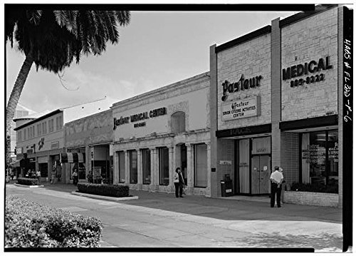 Photo: Lincoln Road Mall,Miami,Miami-Dade County,Florida,FL,HABS,United - Road Lincoln Miami Map