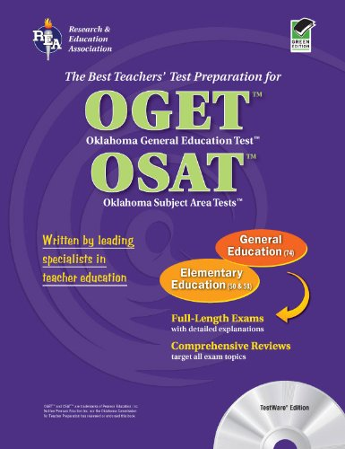 OGET/OSAT Oklahoma General Education & Subject Area Tests - Elementary Ed with CD (OGET / OSAT Teacher Cert Test Prep)