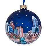 BestPysanky Orlando, Florida Glass Ball Christmas Ornament 3.25 Inches