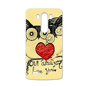 Lovely owls unique durable fashion Cell Phone Case for LG G3