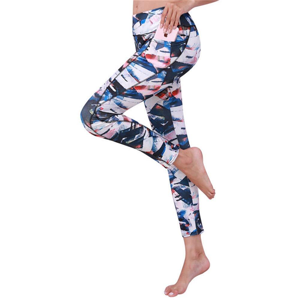 Amazon.com: ZDTXKJ Women Yoga Fitness Leggings Running Gym ...