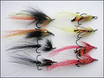 Shrimp Fishing Flies 12 Pack Mixed Size 10//12//14 Trout or Salmon Fishing flies