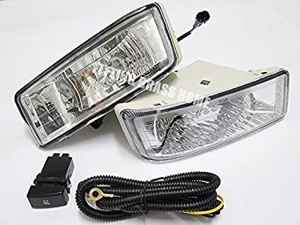 Amazon com: SPOT LIGHT LAMP KITS CLEAR LENS FITS ISUZU DMAX