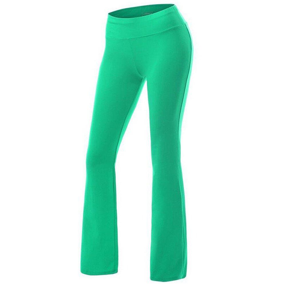 zenicham Womens Active Yoga Pants Green