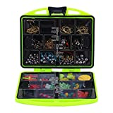 NEW 24 Compartments Fishing Tool Set Tackle Box Full Loaded Lure Bait Hooks Sinker