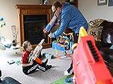 Nerf War: Parents vs Kids 4