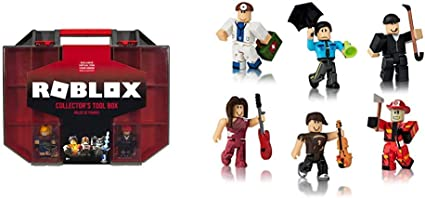 Amazon Com Roblox Collector S Tool Box Citizens Of Roblox Six