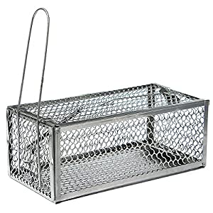 Best to Buy New Humane Mouse Cage Mousetrap High Sensitivity Rat Control Catcher Trap Pest Live Animal Trap