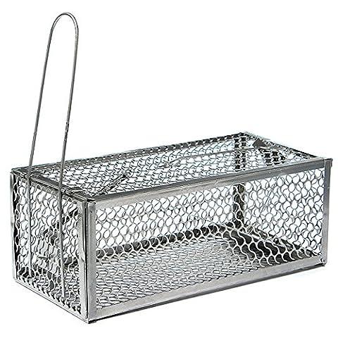 Best to Buy New Humane Mouse Cage Mousetrap High Sensitivity Rat Control Catcher Trap Pest Live Animal - 3g Handset