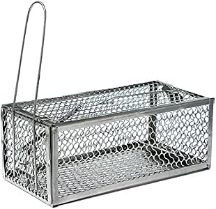 Best to Buy New Humane Mouse Cage Mousetrap High Sensitivity Rat Control Catcher Trap Pest Live Animal Trap