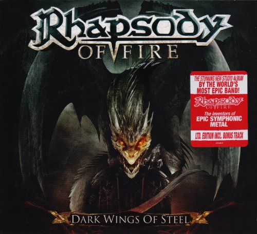 Rhapsody of Fire: Dark Wings of Steel (Ltd.Digipak) (Audio CD)