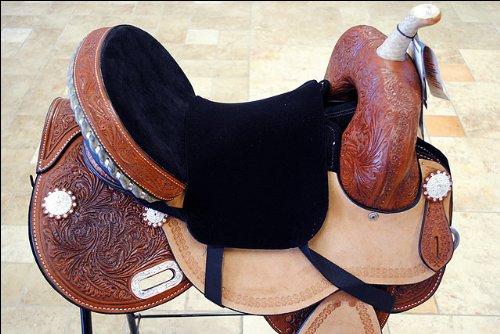 Supreme Sure Grip Black Saddle Seat