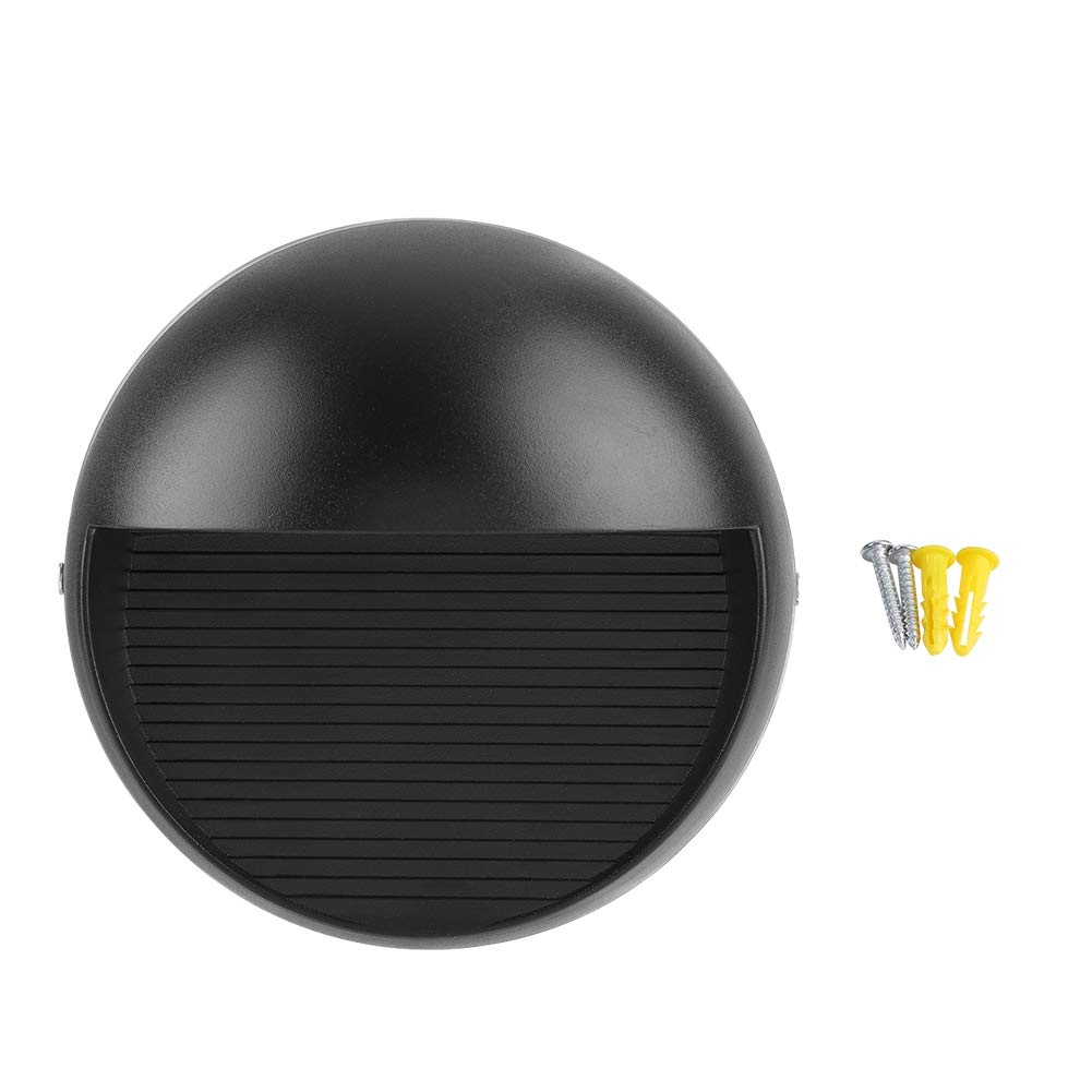 LED Aluminum Wall Light 8W Indoor Room 8W Dustproof Lighting for Pathway, Staircase, Bedroom, Balcony,Drive Warm White
