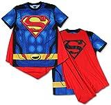 Best bioworld batman Capes - Superman Men's Sublimated T-shirt With Cape (Small) Review