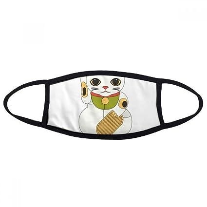 DIYthinker Local Cultura japonesa afortunada del gato Cara máscara anti-polvo anti fría Maske regalo