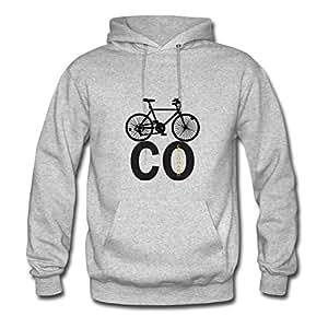 Styling X-large Sweatshirts Grey Cycling/biking Painting Women 100% Cotton S