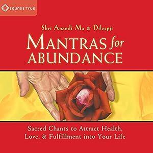 Mantras for Abundance Speech